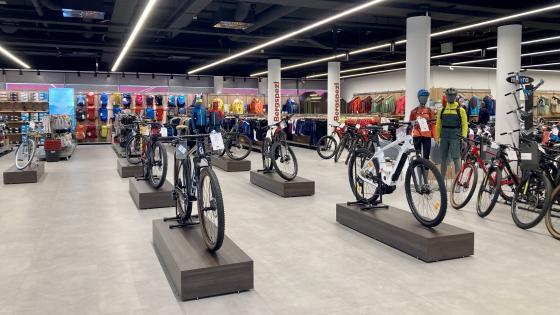 Lehre im Einzelhandel mit Schwerpunkt Sportartikel Bike & Outdoor