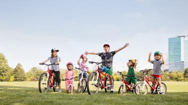 Kinderräder 12 Zoll bis 18 Zoll